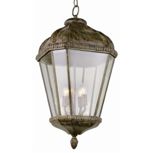 Goldsberry 4-Light Outdoor Hanging Lantern