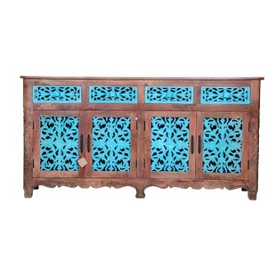 Kahn Carved Sideboard by Bloomsbury Market Best Design