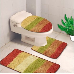 Toilet Lid Cover And Rug Wayfair