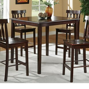 Windcrest 5 Piece Counter Height Dining Set by Charlton Home