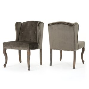 Hollange Wingback Chair (Set of 2) by Mercer41