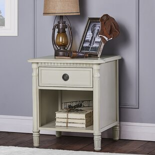 Compare & Buy Julienne 1 Drawer Nightstand by Evolur Reviews (2019) & Buyer's Guide