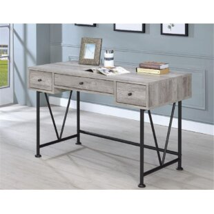 Chiana 3 Drawer Writing Desk