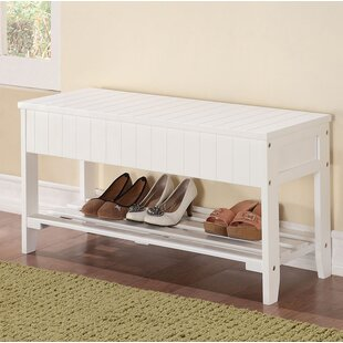 Winston Porter Oaks Wood Storage Bench