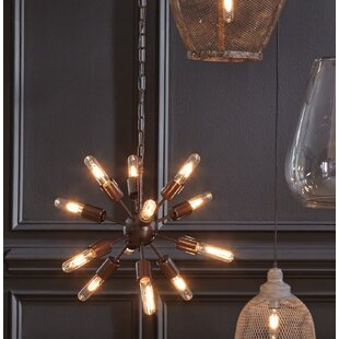 Wrought Studio Harger 10-Light Sputnik Chandelier