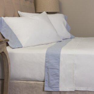 Amity Home Striped 280 100% Cotton Sheet Set