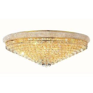 Willa Arlo Interiors Jessenia 30-Light Flush Mount