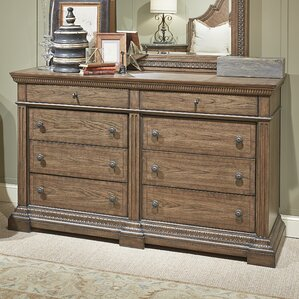 Deverel 8 Drawer Double Dresser by World Menagerie