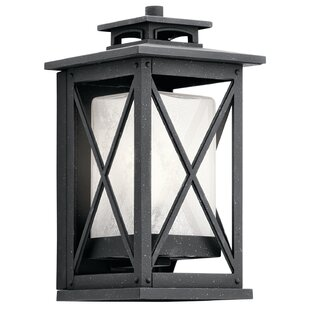 Price comparison Uriel 1-Light Aluminum Outdoor Flush Mount By Gracie Oaks