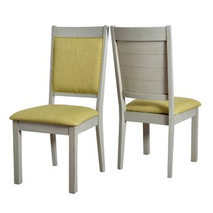 Latitude Run Pickerel Ladder Upholstered Dining Chair (Set of 2)