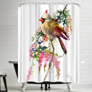 Suren Nersisyan Cardinal II Single Shower Curtain