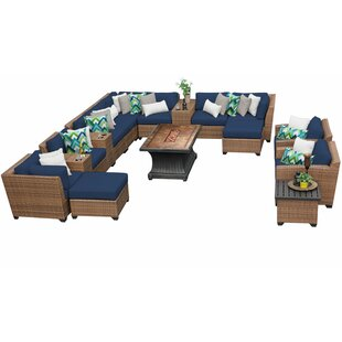 Waterbury 17 Piece Sectional Seating Group with Cushions
