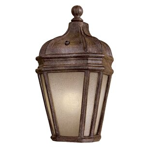 Read Reviews Harrison 1-Light Outdoor Flush Mount By Minka Lavery