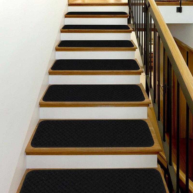 Ebern Designs Black Stair Tread Reviews Wayfair