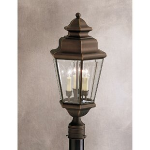 Bigley Outdoor 3-Light Lantern..