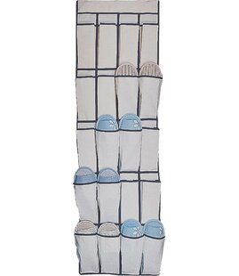 Budget 20-Pocket 10 Pair Overdoor Shoe Organizer By Homebasix