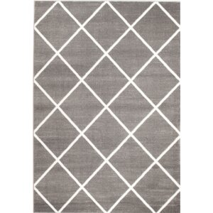 Venice Gray/White Area Rug