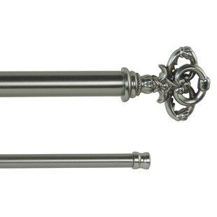Bowen Adjustable Double Curtain Rod by Fleur De Lis Living