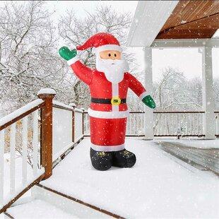 Mr. Klaus LED Santa Claus Inflatable By OneConcept