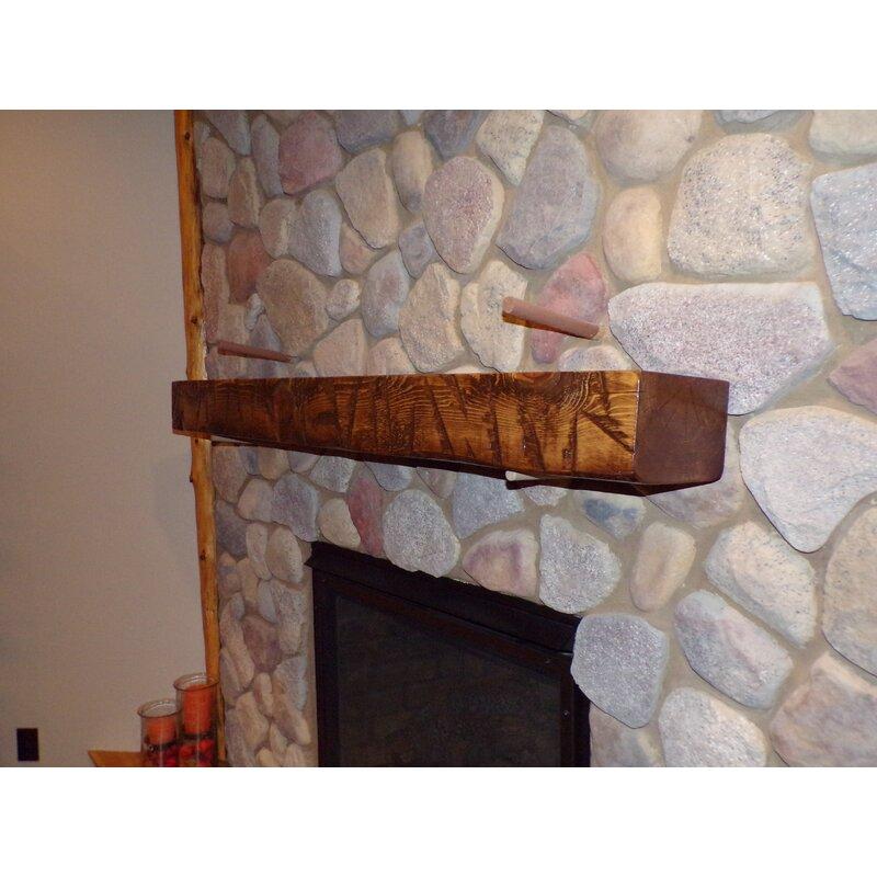North Shore Log Company Timber Fireplace Shelf Mantel Reviews