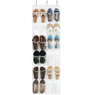 Affordable Price 12 Pair Overdoor Shoe Organizer By Rebrilliant