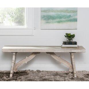 One Allium Way Elyn Wood Bench