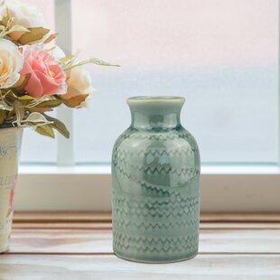 Randazzo Turquoise Table Vase
