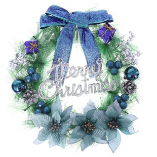 Bow-Tie 30cm Wreath By The Seasonal Aisle