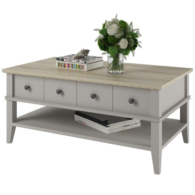 Furniture Coffee Tables beachcrest home montverde coffee table & reviews | wayfair