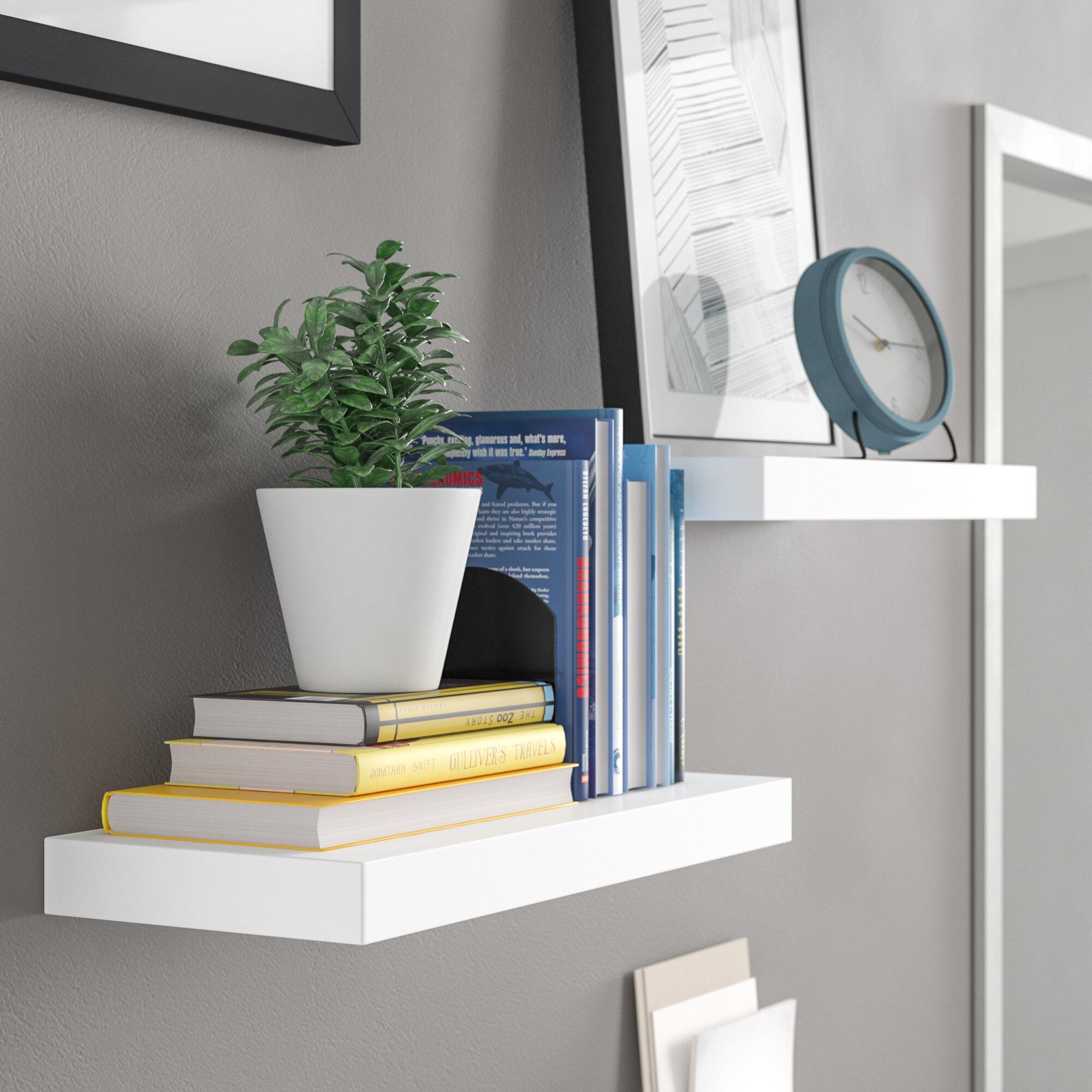 Brilliant Nursery Floating Shelves Wayfair Download Free Architecture Designs Lukepmadebymaigaardcom