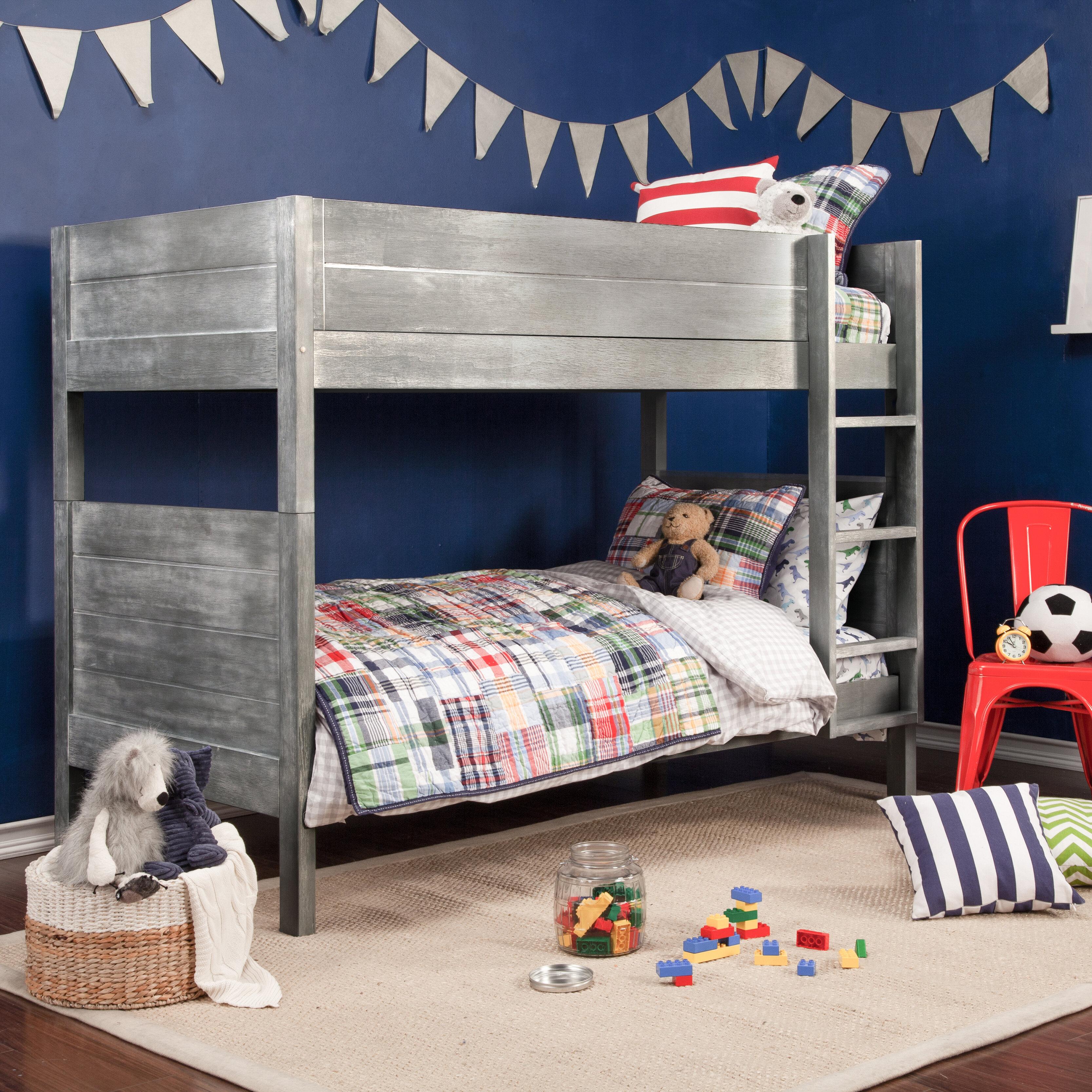 Image of: Fairway Twin Bunk Bed Reviews Birch Lane