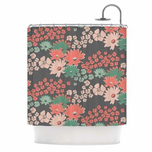Bouquet Shower Curtain by East Urban Home