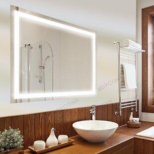 lighting mirrors bathroom. Tiemeyer Bathroom Mirror Lighting Mirrors E