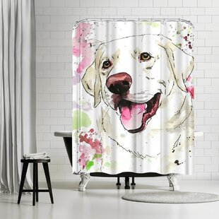 Allison Gray Dixie Single Shower Curtain