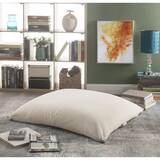 Loungie Magic Pouf Linen Medium Bean Bag Chair by Inspired Home Co.