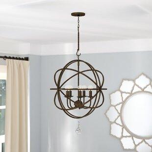 Willa Arlo Interiors Rodrigues 5-Light Globe Chandelier