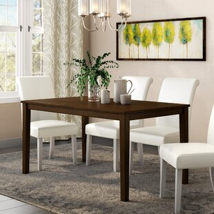 Rhem Solid Wood Dining Table