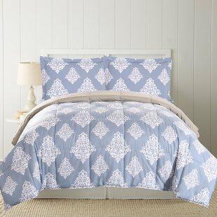 Barlow Printed Down Alternative Reversible Comforter Set