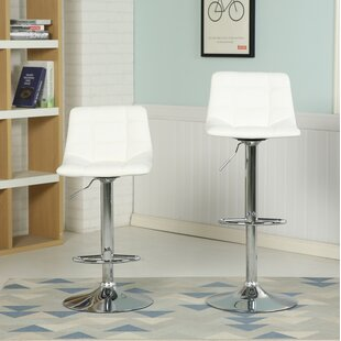 Look for Iacovelli Adjustable Height Swivel Bar Stool by Orren Ellis