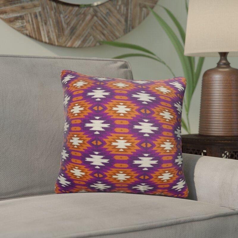 Bloomsbury Market Bentley Accent Cotton Geometric Throw Pillow Wayfair