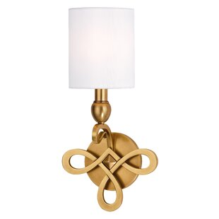 Reviews Emmons 1-Light Candle Wall Light By Darby Home Co