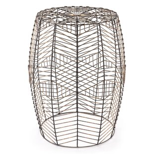 Cecille Wired Accent Stool by Williston Forge