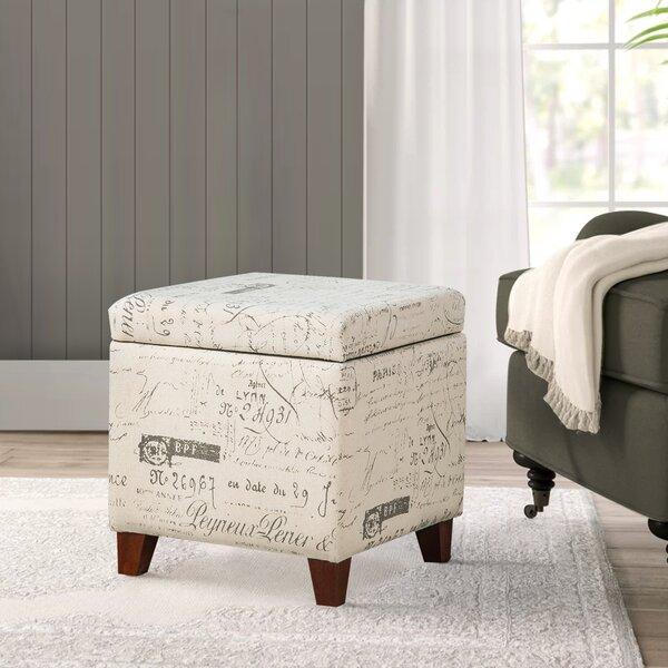 Fabulous Paris Script Ottoman Wayfair Ibusinesslaw Wood Chair Design Ideas Ibusinesslaworg
