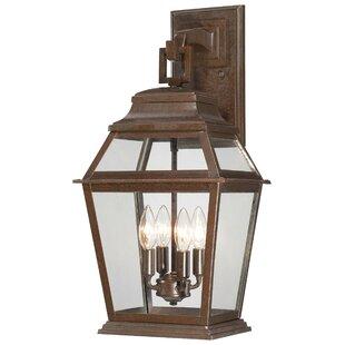 Great Outdoors by Minka Crossroads Point 4-Light Outdoor Wall Lantern