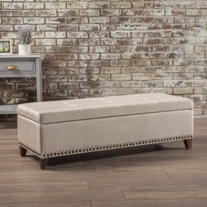 Bluford Fabric Storage Ottoman by Alcott Hill