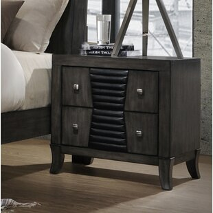 Beveridge 2 Drawer Nightstand