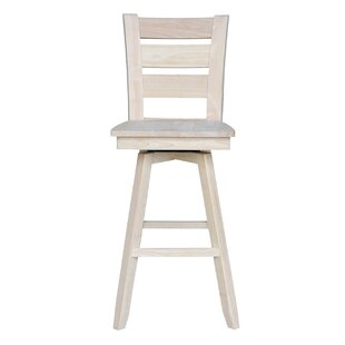 Willits 30 Swivel Bar Stool Loon Peak