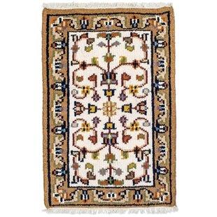 Rossett Handwoven Wool Beige Indoor/Outdoor Rug By Bloomsbury Market