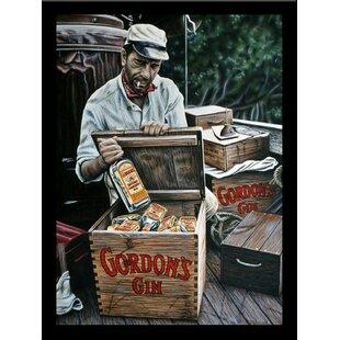 'Gordon's Gin' Print Poster Framed Vintage Advertisement Print ByBuy Art For Less
