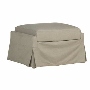 Helena Outdoor Ottoman with Cushion by Summer Classics